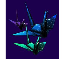 Galactic Origami Photographic Print