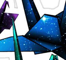 Galactic Origami Sticker