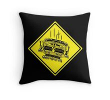 Beware of Falling Chandeliers Throw Pillow