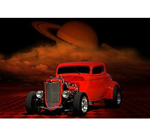 1934 Ford Coupe Street Rod Photographic Print