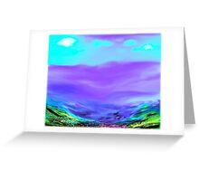 Valley Views Greeting Card
