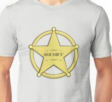 Sheriff's Badge Unisex T-Shirt