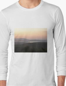 Soft evening light - Towards Downings Donegal  Ireland  Long Sleeve T-Shirt