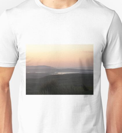 Soft evening light - Towards Downings Donegal  Ireland  Unisex T-Shirt