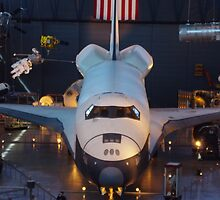 USS Enterprise Space Shuttle by Doug Cargill