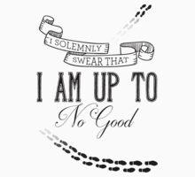 I solemnly swear that i am up to no good Baby Tee