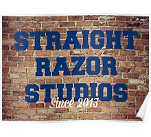 Straight Razor Studios Brickface Poster Poster