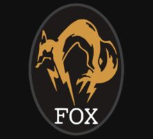 MGS FOX Patch T-Shirt One Piece - Long Sleeve