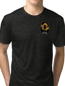MGS FOX Patch T-Shirt Tri-blend T-Shirt