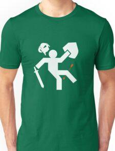 Arrow to the Knee Unisex T-Shirt