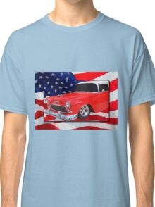 Patriotic 55 Chevy Classic T-Shirt