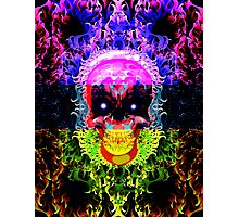 Skully Awesome Photographic Print