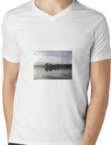 Culmore Reflections Derry Ireland Mens V-Neck T-Shirt