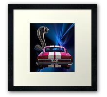 Shelby Cobra GT-500 Framed Print