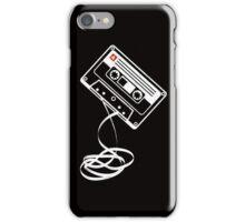 Cassette Tape Audio Analog Old School Music Geek Vintage Design iPhone Case/Skin