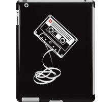 Cassette Tape Audio Analog Old School Music Geek Vintage Design iPad Case/Skin