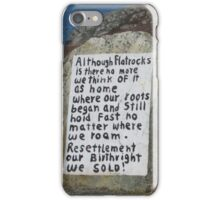 Painted Rock in NL iPhone Case/Skin