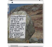 Painted Rock in NL iPad Case/Skin