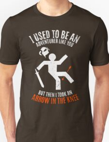 Arrow In the Knee 2.0 T-Shirt