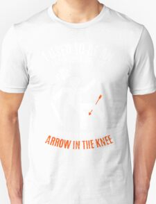 Arrow In the Knee 2.0 Unisex T-Shirt