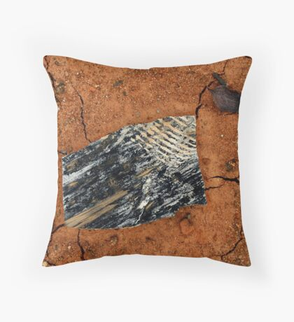 Gem in the Matrix Throw Pillow