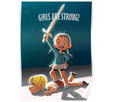 Girls are Strong! Poster
