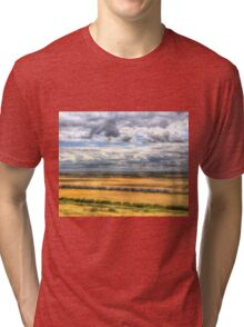 Thames Estuary View Tri-blend T-Shirt