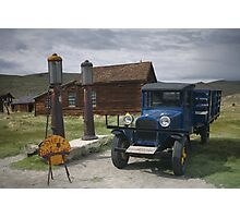 Bodie CA The Old Bodie Shell Station Photographic Print