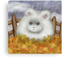 Static Hare Canvas Print