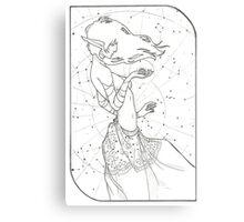 High Priestess - Tarot Card Canvas Print