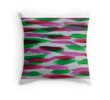 Lily Pad Love Tails Throw Pillow
