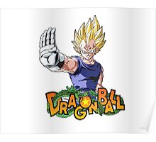 Majin Vegeta - Dragon Ball Poster