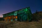 Night at the Abandoned Fruit Stand by MattGranz