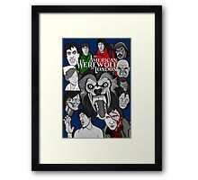 American Werewolf in London original collage art Framed Print