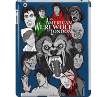 American Werewolf in London original collage art iPad Case/Skin