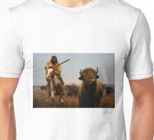 Native American Hunter Unisex T-Shirt
