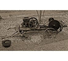 Old and Rusty Photographic Print