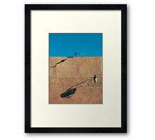 Once upon a time in the afternoon  Framed Print