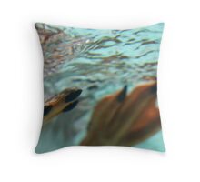 Happy Feet Throw Pillow