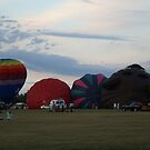 Hot Air Balloons I by Lorelle Gromus