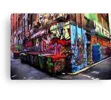 Hosiers Corner 1 Canvas Print
