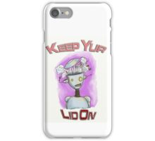 Keep You Lid On Robot iPhone Case/Skin