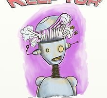 Keep You Lid On Robot by mdkgraphics