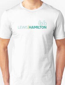 Mercedes F1 Driver: Lewis Hamilton #44 T-Shirt