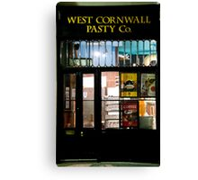 West Cornwall Pasty Co. Canvas Print