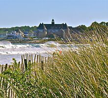 The Tower Above the Waves and Sea Grass - Narrgansett - Rhode Island - US *featured by Jack McCabe