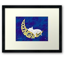 Goodnight Moon... Framed Print