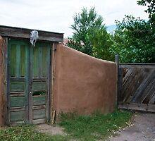 Older adobe home by Ann Reece