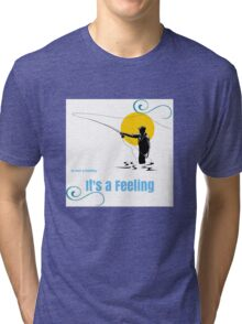 Fly Fishing Tri-blend T-Shirt