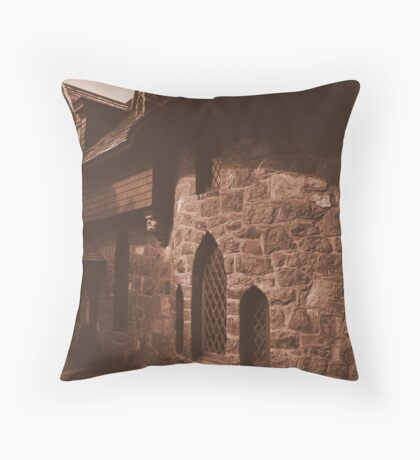 Beauport in Sepia Throw Pillow